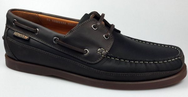 Mephisto Bootsschuh braun boating