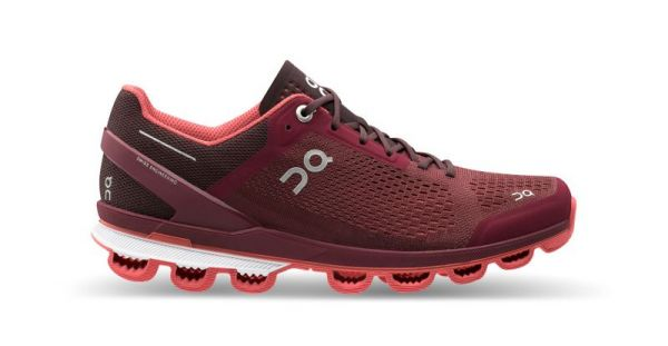On Running Cloudsurfer Mulberry Coral