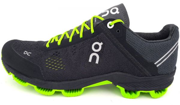 On Cloudsurfer black/lime