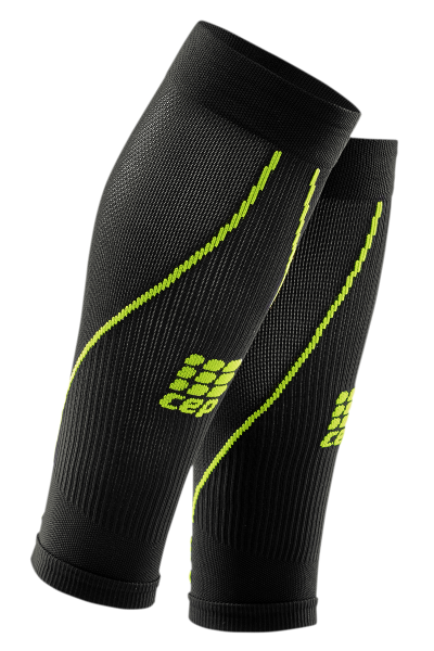 CEP Calf Sleeves 2.0 men black/green