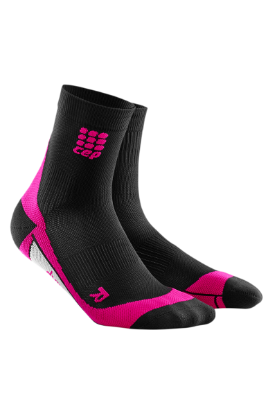 CEP Short Socks women black/pink